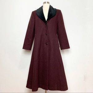 Vintage Trench Princess Coat S-M